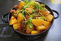 川味不麻,老少皆宜的土豆烧牛腩的做法