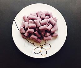 Q弹的紫薯圆的做法