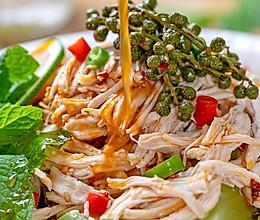 藤椒薄荷鸡|开胃省心的做法