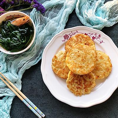 鲜虾萝卜丝饼
