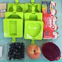 养乐多水果冰棒的做法图解1