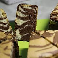 斑马纹蛋糕的做法图解6