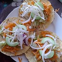 墨西哥玉米饼沙拉  taco tostadas的做法图解4