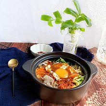 韩式辣酱拌饭