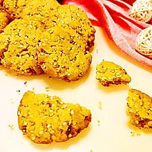 咸芝麻曲奇饼干#丘比沙拉汁#