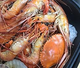 天气热了 盐焗海鲜锅 搞起来的做法