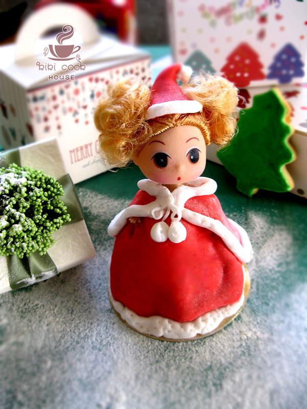 圣诞翻糖迷糊娃