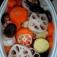 莲藕排骨汤的做法图解5