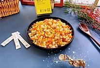 #爱乐甜夏日轻脂甜蜜#肉末玉米三丁的做法