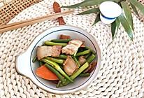 肉烧蒜苔(回锅肉版,下酒菜)的做法