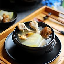 淡菜节瓜鸡脚汤#九阳T5#