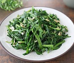 韭菜炒虾米的做法
