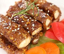 看着高大上的牛排,竟然是用豆腐做的?!的做法