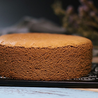可可戚风蛋糕