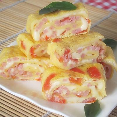 番茄起司蛋卷