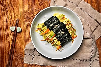 海苔蔬菜卷