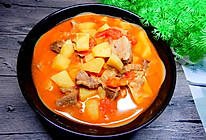 西红柿土豆炖牛肉的做法