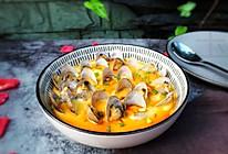 鲜掉眉毛的蛤蜊蒸蛋的做法