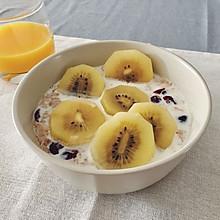 水果麦片清新早餐