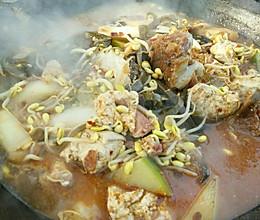地锅炖菜的做法