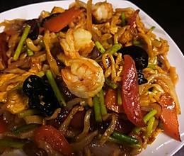 海鲜时蔬炒面~超快手儿童简餐系列的做法