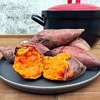 黑乐砂锅烤红薯