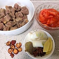 土豆炖牛肉的做法图解2