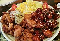 日韩炸鸡在一起的做法