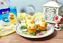 """烤蜜薯芝士焗""""蘑菇""""的做法"""