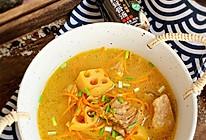 #福气年夜菜#虫草花莲藕排骨汤的做法