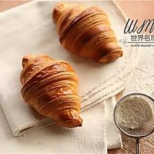 法国面包MOF大师独家配方,教你做正宗羊角面包