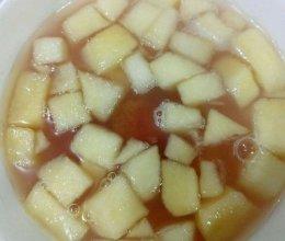 山楂苹果热饮的做法