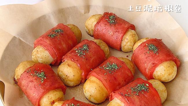 韩国人气美食丨土豆泥培根卷#monbento为减脂季撑腰#的做法