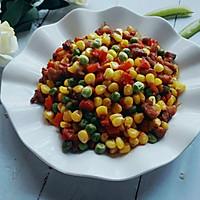 #童年不同样,美食有花样#黏甜玉米什锦的做法图解8