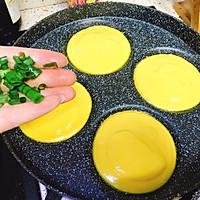 瘦身代餐主食之牛奶香葱南瓜小圆饼的做法图解11