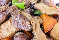 松茸焖排骨 牛佤松茸食谱的做法