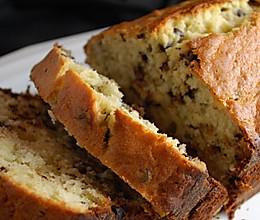 坚果巧克力香蕉面包的做法