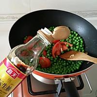 茄汁豌豆下饭菜的做法图解6