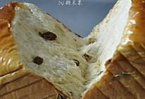 枫糖葡萄干吐司的做法