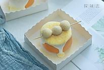 白玉豆乳蛋糕卷的做法