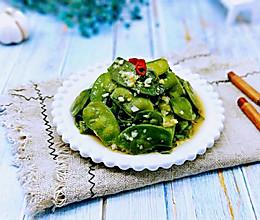 蒜蓉炒扁豆#春季减肥,边吃边瘦#的做法