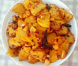 简易干锅土豆的做法
