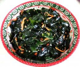 家常菜凉拌裙带菜,营养健康的做法