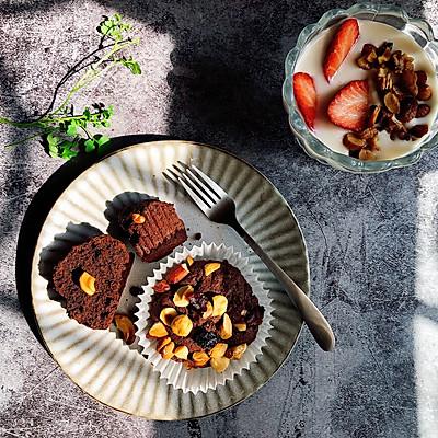 巧克力果仁小蛋糕