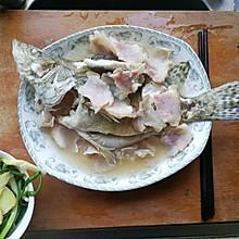 咸肉蒸桂鱼