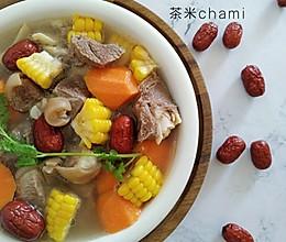 玉米胡萝卜羊肉汤的做法