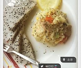 金枪鱼土豆泥的做法