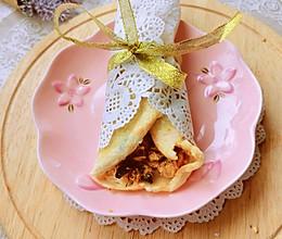 独创沙拉肉松鸡蛋卷饼的做法