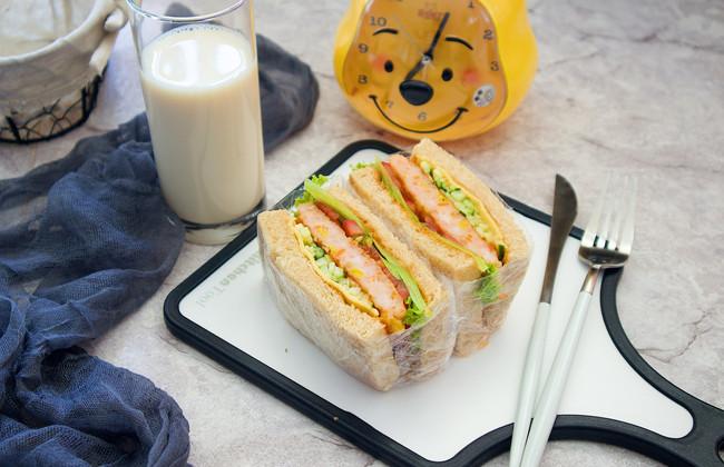 豆果美食的七天不重样的营养三明治