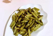 腌蒜苔的做法
